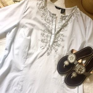 Mossimo sequin embellished tunic top